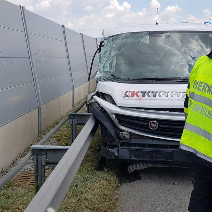 Verkehrsunfall S36 FR Klagenfurt