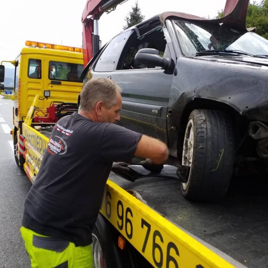 Verkehrsunfall S36