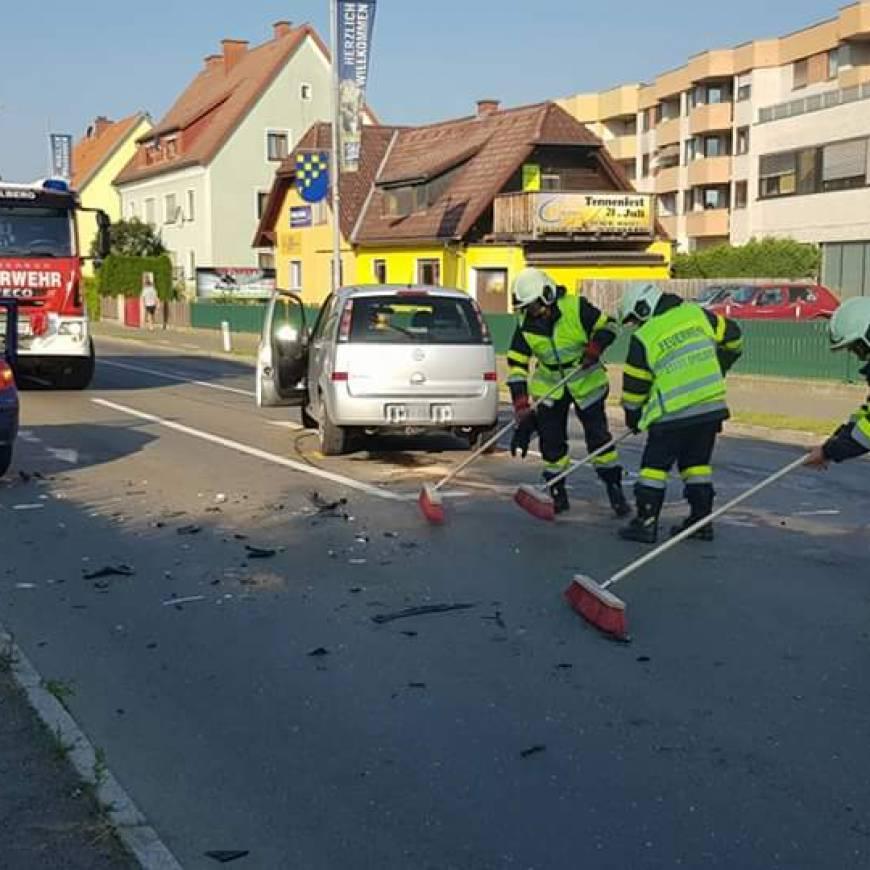 Verkehrsunfall Triesterstraße