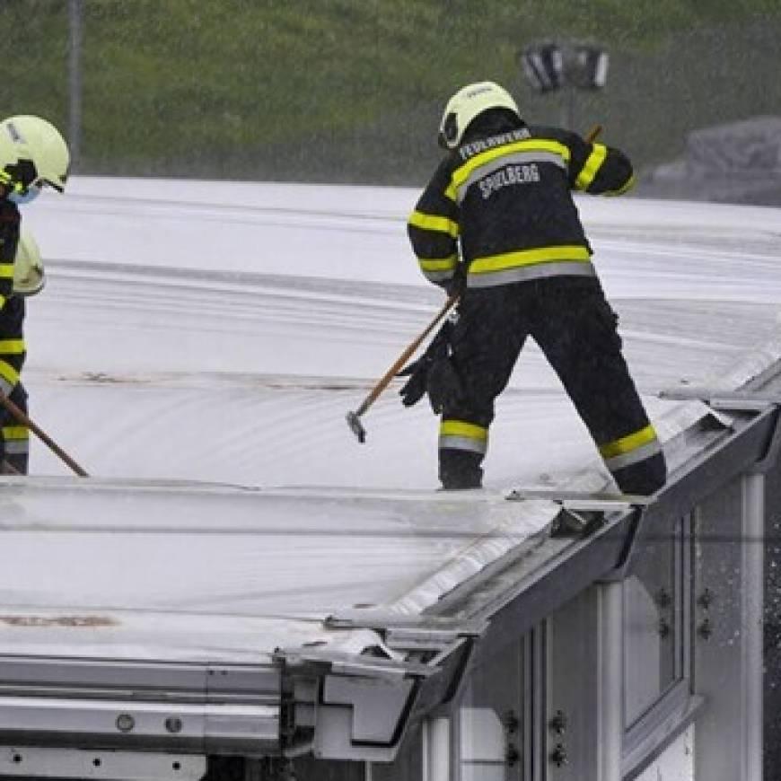 Starkregen bei Brandwache